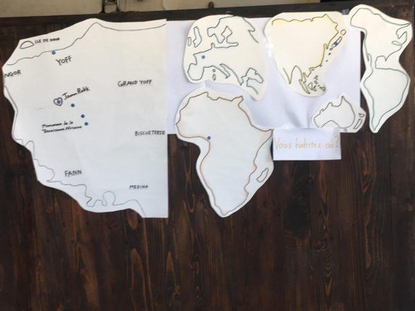 JammRekkに来てくれたお客さんの在住地図